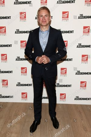 "Pat Kiernan attends a special screening of ""The Assignment"" at The Whitby Hotel, in New York"