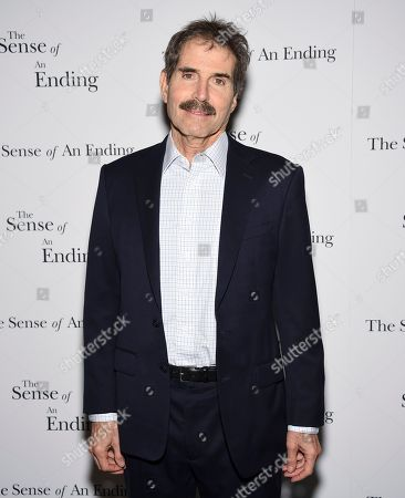 """John Stossel attends a special screening of """"The Sense of an Ending"""" at the Museum of Modern Art, in New York"""