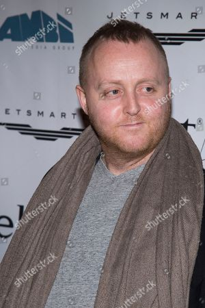 """James McCartney attends a screening of """"This Beautiful Fantastic"""" at the SVA Theatre on Monday, Dec. 19. 2016, in New York"""