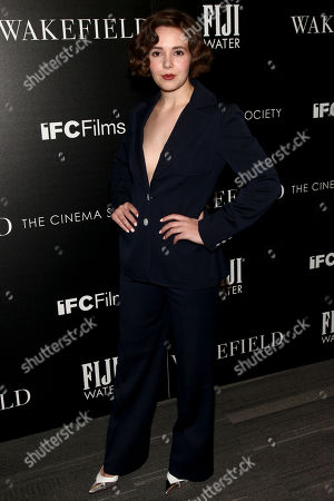 "Victoria Bruno attends a special screening of ""Wakefield"", hosted by The Cinema Society, at Landmark Sunshine Cinema, in New York"