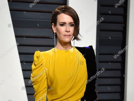 Actress Sarah Paulson arrives at the Vanity Fair Oscar Party in Beverly Hills, Calif. Fresh off her SAG, Golden Globe and Emmy Award wins for playing Marcia Clark in â?œAmerican Crime Story,â?? Paulson is celebrating the woman who put together all those red carpet looks: Karla Welch, whom the Hollywood Reporter just named the industryâ?™s most powerful stylist. Though Paulson prefers leisurewear, she loves the ritual of getting ready for the red carpet. Having a spectacular dress to wear helps her achieve the right mindset for a million flashbulbs and screaming fans
