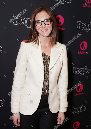 "Exec. Producer Alison Greenspan seen at premiere screening of Lifetime Television ""Beaches"" at Regal LA Live Stadium 14 on in Los Angeles, Calif"