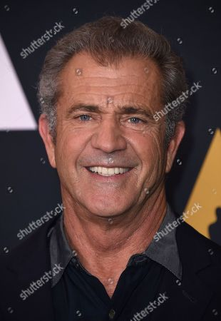 Mel Gibson arrives at the Richard Donner Tribute on in Beverly Hills, Calif