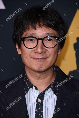 Ke Huy Quan arrives at the Richard Donner Tribute on in Beverly Hills, Calif