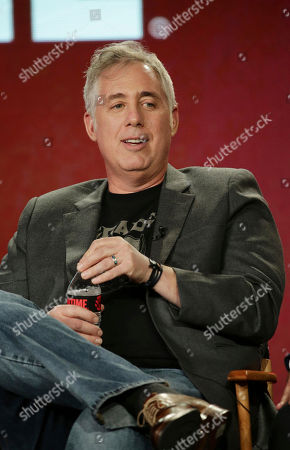 "Executive Producer Brian Koppelman speaks at ""Billions"" panel at Showtime 2017 Winter TCA at The Langham Huntington Hotel, in Pasadena, Calif"