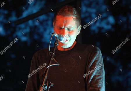 Jonsi Birgisson with Sigur Ros performs at the Fabulous Fox Theatre, in Atlanta