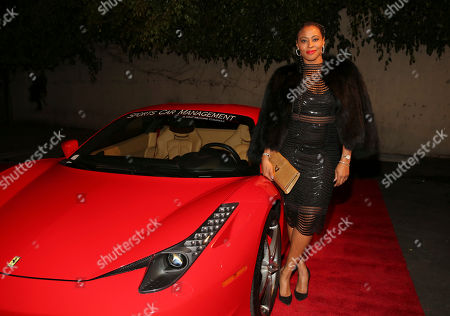 Stock Photo of Nichelle Hines arrives at the annual All Star Party presented by Sky Diamonds, Sports Car Management and CNC Motors, Inc. to benefit Children's Hospital Los Angeles on in Los Angeles, CA
