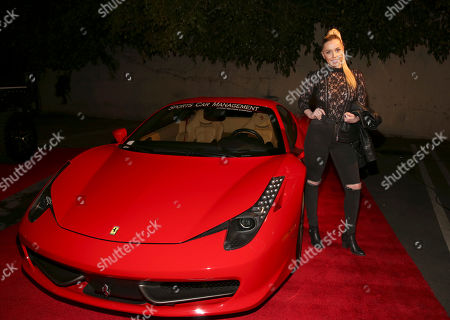 Violet Benson arrives at the annual All Star Party presented by Sky Diamonds, Sports Car Management and CNC Motors, Inc. to benefit Children's Hospital Los Angeles on in Los Angeles, CA