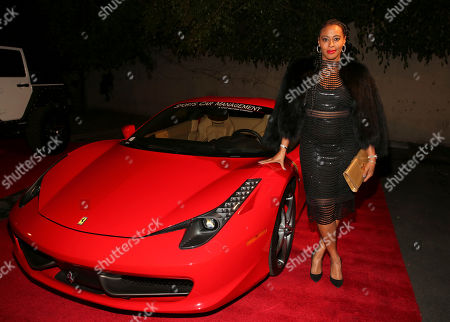 Nichelle Hines arrives at the annual All Star Party presented by Sky Diamonds, Sports Car Management and CNC Motors, Inc. to benefit Children's Hospital Los Angeles on in Los Angeles, CA
