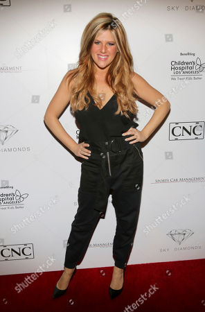 Carly Robyn Green arrives at the annual All Star Party presented by Sky Diamonds, Sports Car Management and CNC Motors, Inc. to benefit Children's Hospital Los Angeles on in Los Angeles, CA