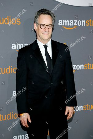 John Rothman arrives at the Amazon Studios Golden Globes afterparty at the Beverly Hilton Hotel, in Beverly Hills, Calif