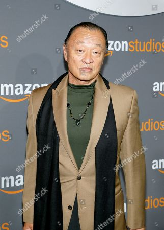 Cary-Hiroyuki Tagawa arrives at the Amazon Studios Golden Globes afterparty at the Beverly Hilton Hotel, in Beverly Hills, Calif
