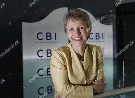 Helen Alexander, senior adviser to Bain Capital, during a photocall announcing her nomination for election as President of the CBI