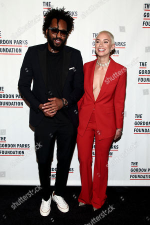 Editorial picture of The Gordon Parks Foundation 2017 Awards Gala, New York, USA - 6 Jun 2017