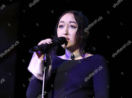 Noah Cyrus performs at The Humane Society of the United States' To The Rescue! Los Angeles Benefit at Paramount Studios, in Los Angeles. The event benefits The HSUS' Farm Animal Protection campaign and honors Sen. Cory Booker, D-NJ, and Christina Grimmie (posthumously) with performances by Noah Cyrus, Pharrell and Rachel Platten