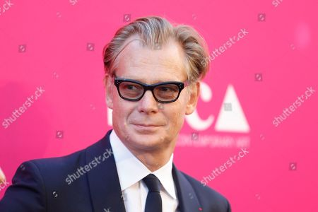 MOCA Director Philippe Vergne poses at The Museum of Contemporary Art 2017 Annual Gala at The Geffen Contemporary at MOCA, in Los Angeles