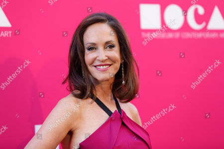 MOCA Gala chair Lilly Tartikoff poses at The Museum Of Contemporary Art 2017 Annual Gala at The Geffen Contemporary at MOCA, in Los Angeles, Calif