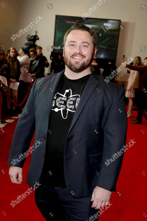 """Joe P. Harris seen at The World Premiere of Screen Gems' """"Resident Evil: The Final Chapter"""" at Regal LA Live, in Los Angeles"""