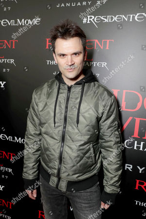"""Kash Hovey seen at The World Premiere of Screen Gems' """"Resident Evil: The Final Chapter"""" at Regal LA Live, in Los Angeles"""