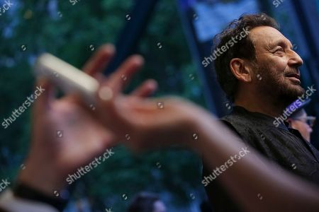 "Stock Image of Director/Executive Producer Shekhar Kapur attends TNT's ""Will"" season premiere at Bryant Park, in New York"