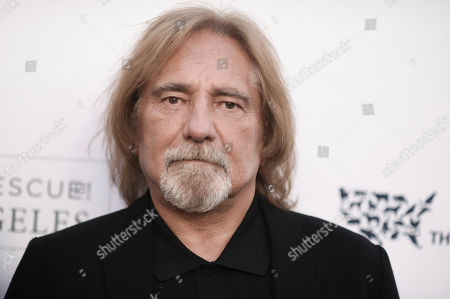 Geezer Butler attends To the Rescue! Los Angeles Humane Society Benefit at Paramount Pictures Studios, in Los Angeles