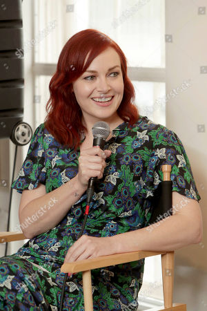 """Moderator Alicia Malone seen at TriStar Pictures """"Baby Driver"""" BBQ and Q&A with Director Edgar Wright at 2017 SXSW held at Freedmen's, in Austin, TX"""