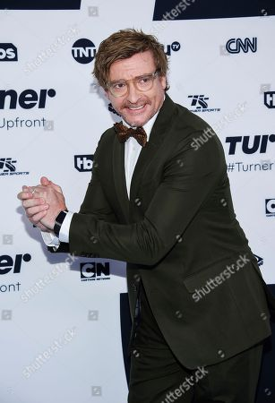 Actor Rhys Darby attends the Turner Network 2017 Upfront presentation at The Theater at Madison Square Garden, in New York