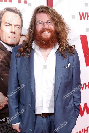 """Zack Pearlman attends Twentieth Century Fox's world premiere of """"Why Him?"""" at Regency Bruin Theater, in Westwood, Calif"""