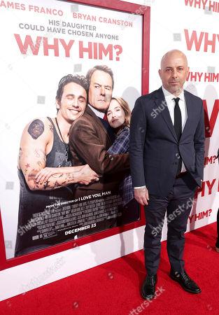 "Ian Helfer attends Twentieth Century Fox's world premiere of ""Why Him?"" at Regency Bruin Theater, in Westwood, Calif"