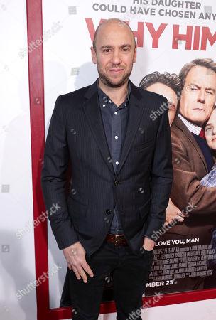 "John Hamburg attends Twentieth Century Fox's world premiere of ""Why Him?"" at Regency Bruin Theater, in Westwood, Calif"