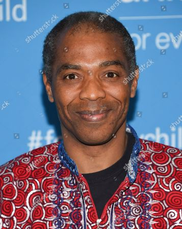 Nigerian singer and musician Femi Kuti attends UNICEF's 70th anniversary gala, at United Nations headquarters