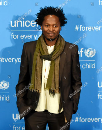 Stock Picture of Ishmael Beah attends UNICEF's 70th anniversary gala, at United Nations headquarters