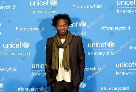 Stock Photo of Ishmael Beah attends UNICEF's 70th anniversary gala, at United Nations headquarters