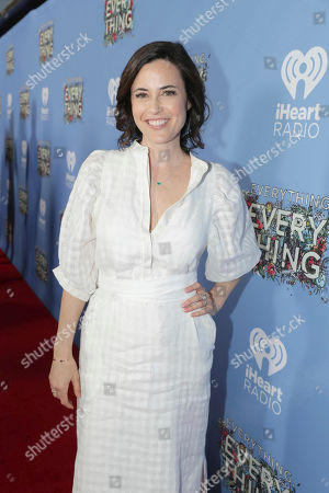 """Stock Image of Fiona Loewi seen at Warner Bros. Pictures and Metro-Goldwyn-Mayer Pictures """"Everything, Everything"""" Special VIP Screening, in Los Angeles"""
