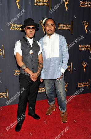 """Rich + Tone Talauega arrive at the Television Academy's """"Whose Dance Is It Anyway?"""" event celebrating the art of choreography with an evening of dance created by renowned choreographers at the Saban Media Center on in the NoHo Arts District in Los Angeles"""
