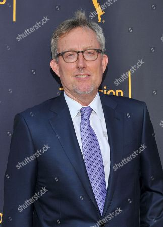Alex Gansa arrives to take part in WORDS + MUSIC, presented at the Television Academy's Wolf Theatre at the Saban Media Center in North Hollywood, Calif