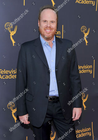 Stock Picture of Pedro Bromfman arrives to take part in WORDS + MUSIC, presented at the Television Academy's Wolf Theatre at the Saban Media Center in North Hollywood, Calif