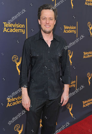 Nathan Barr arrives to take part in WORDS + MUSIC, presented at the Television Academy's Wolf Theatre at the Saban Media Center in North Hollywood, Calif