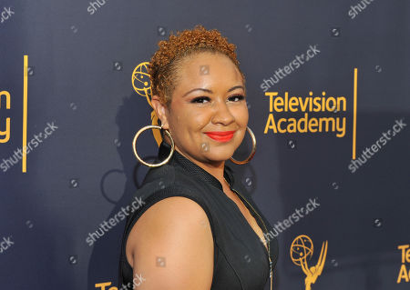 Candace Coles arrives to take part in WORDS + MUSIC, presented at the Television Academy's Wolf Theatre at the Saban Media Center in North Hollywood, Calif