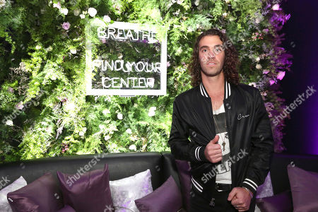 Zac Barnett takes a break at the Island Records Pre-Grammy Party at STK at The W in West Beverly Hills to experience a moment of mindfulness at Young Living's The Lavender Lounge and enjoy an essential oil-infused cocktail before music's biggest night on Sat., in Los Angeles. For more information about Young Living and the benefits of essential oils, visit www.YoungLiving.com