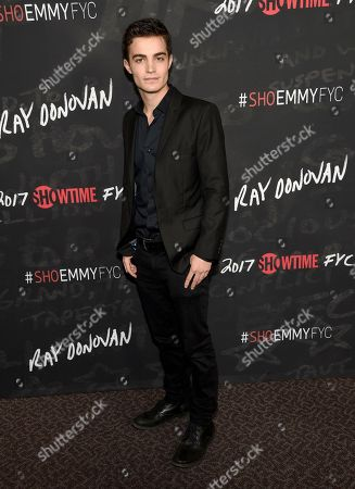 "Devon Bagby arrives at a ""Ray Donovan"" For Your Consideration event at the Directors Guild of America Theater, in Los Angeles"