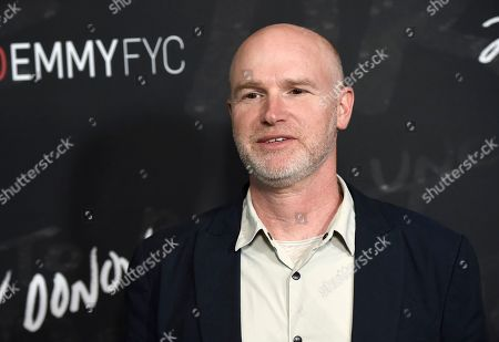 """Executive producer David Hollander arrives at a """"Ray Donovan"""" For Your Consideration event at the Directors Guild of America Theater, in Los Angeles"""