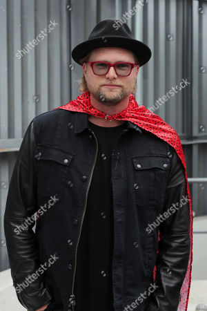 Soundtrack Producer Adam Anders seen at 'Captain Underpants: The First Epic Movie' Flag raising ceremony at the Capitol Records Building, in Los Angeles, CA