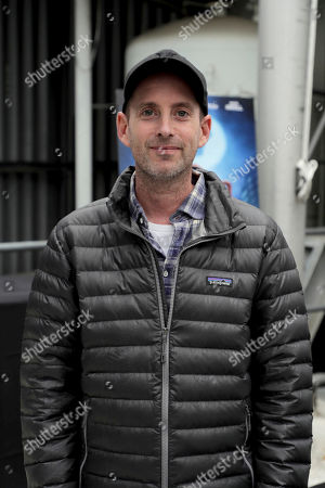 Director David Soren seen at 'Captain Underpants: The First Epic Movie' Flag raising ceremony at the Capitol Records Building, in Los Angeles, CA