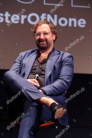 Eric Wareheim seen at 'Master of None' Netflix FYSee exhibit space with a Q&A at the Samuel Goldwyn Theater, in Los Angeles