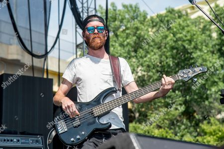 Tommy Putnam of Moon Taxi performs at the Bunbury Music Festival, in Cincinnati