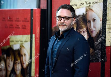 "Colin Trevorrow, director of ""The Book of Henry,"" poses at the premiere of the film on the opening night of the 2017 Los Angeles Film Festival at the ArcLight Culver City, in Culver City, Calif"