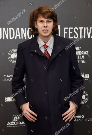 """Matty Cardarople, a cast member in """"The Big Sick,"""" poses at the premiere of the film at Eccles Theatre during the 2017 Sundance Film Festival, in Park City, Utah"""