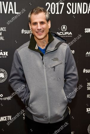 """Barry Mendel, producer of """"The Big Sick,"""" poses at the premiere of the film at Eccles Theatre during the 2017 Sundance Film Festival, in Park City, Utah"""