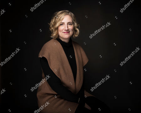 """Stacey Offman poses for a portrait to promote the film, """"Water & Power"""", at the Music Lodge during the Sundance Film Festival, in Park City, Utah"""